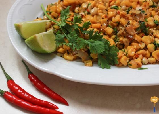 photo of Vaghareli Mekai (tempered indian corn)