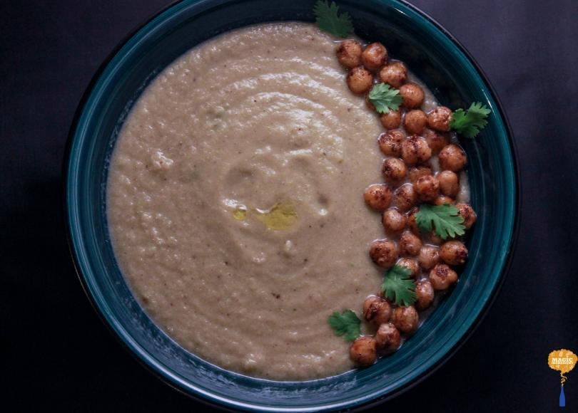 photo of Sumac Cauliflower with crispy chickpeas