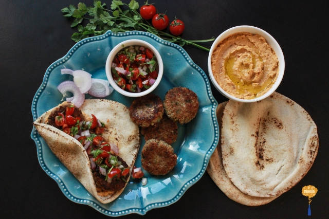 photo of Feta Falafel Wrap