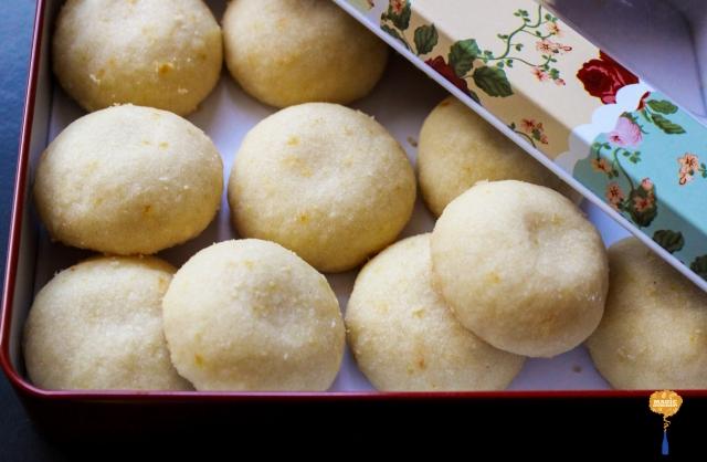 photo of orange blossom sugar cookies