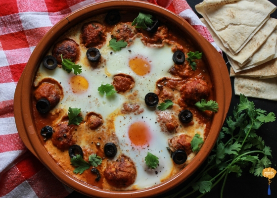 photo of Moroccon inspired Kofta Tagine