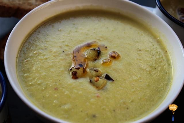 Photo of Leek potato and Goat Cheese Soup