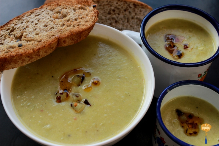 Photo of Leek potato and Goat Cheese Soup