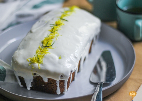 Photo of Lemon Cake with Yogurt Frosting