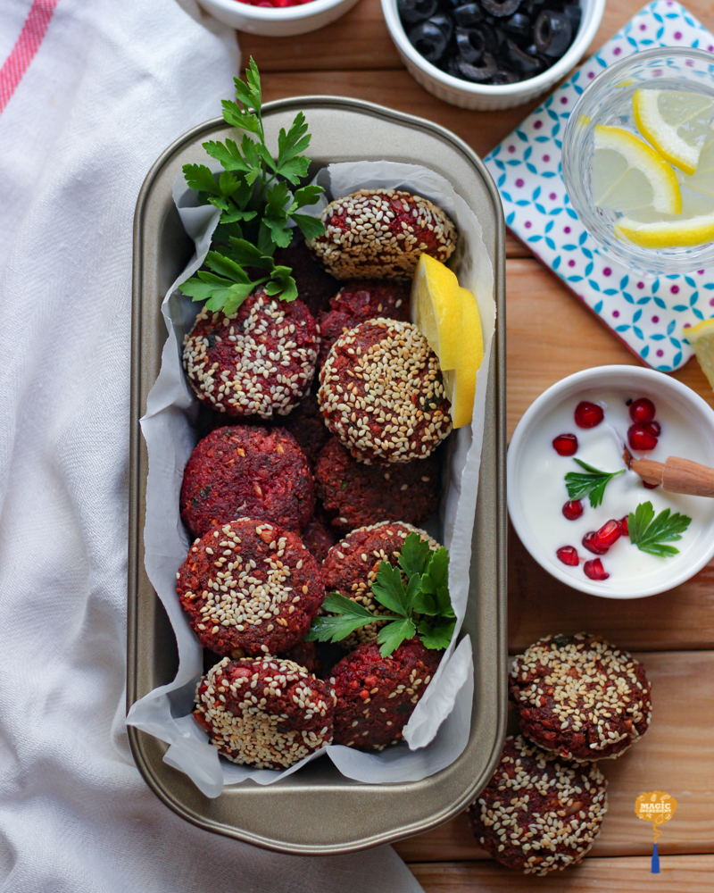 Photo of Beetroot Falafel