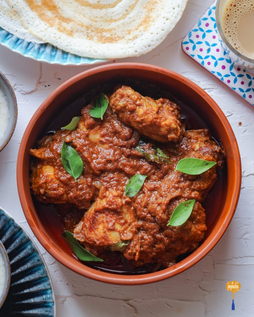 Photo of Spicy chicken curry