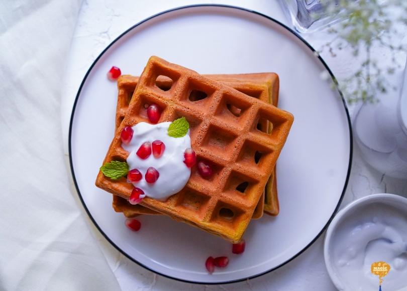 photo of Beetroot Waffles