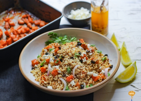 Photo of Butternut squash quinoa salad
