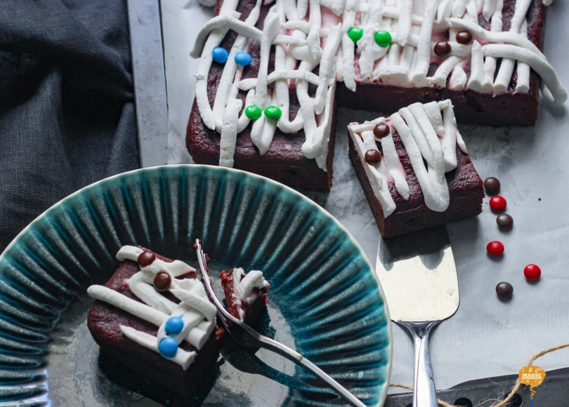 Photo of Beetroot chocolate brownie cake