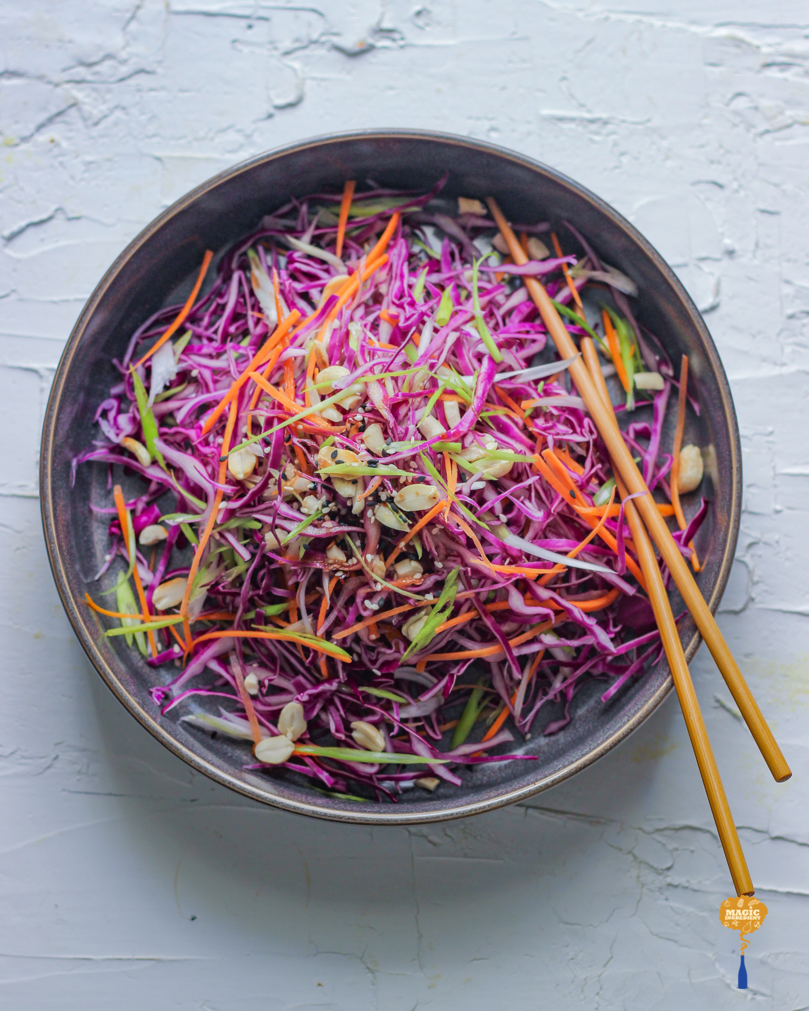 Photo of Asian Style Cabbage Salad