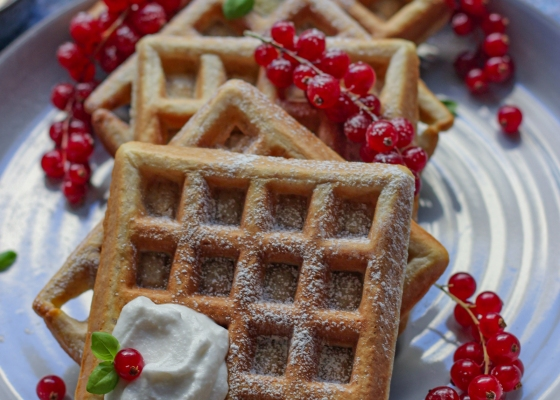 Photo of Wholemeal waffles