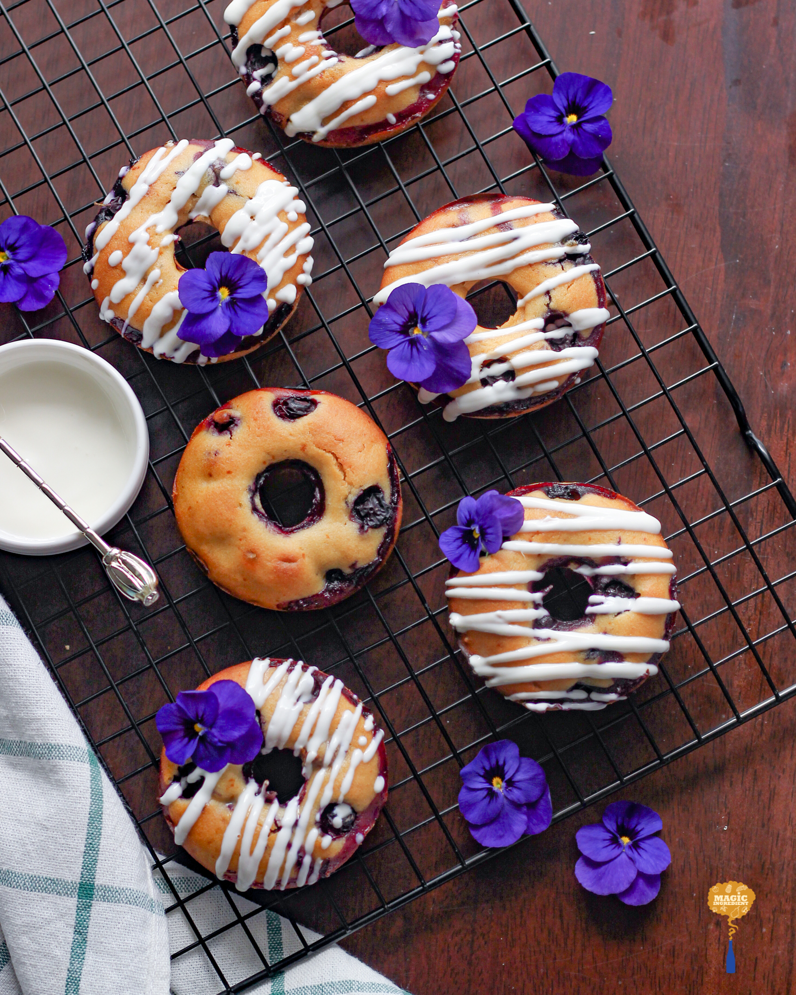 photo of Blueberry Honey Donut