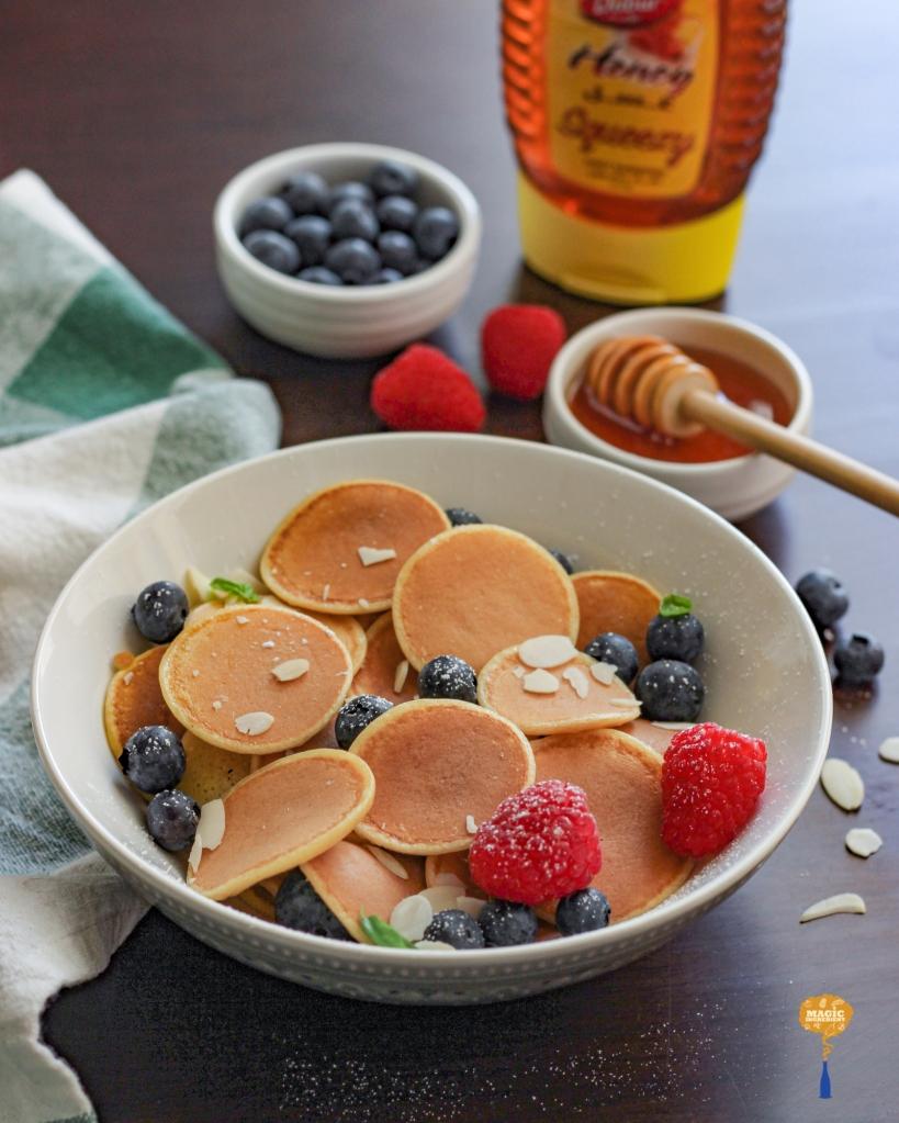 photo of Rosewater mini pancakes
