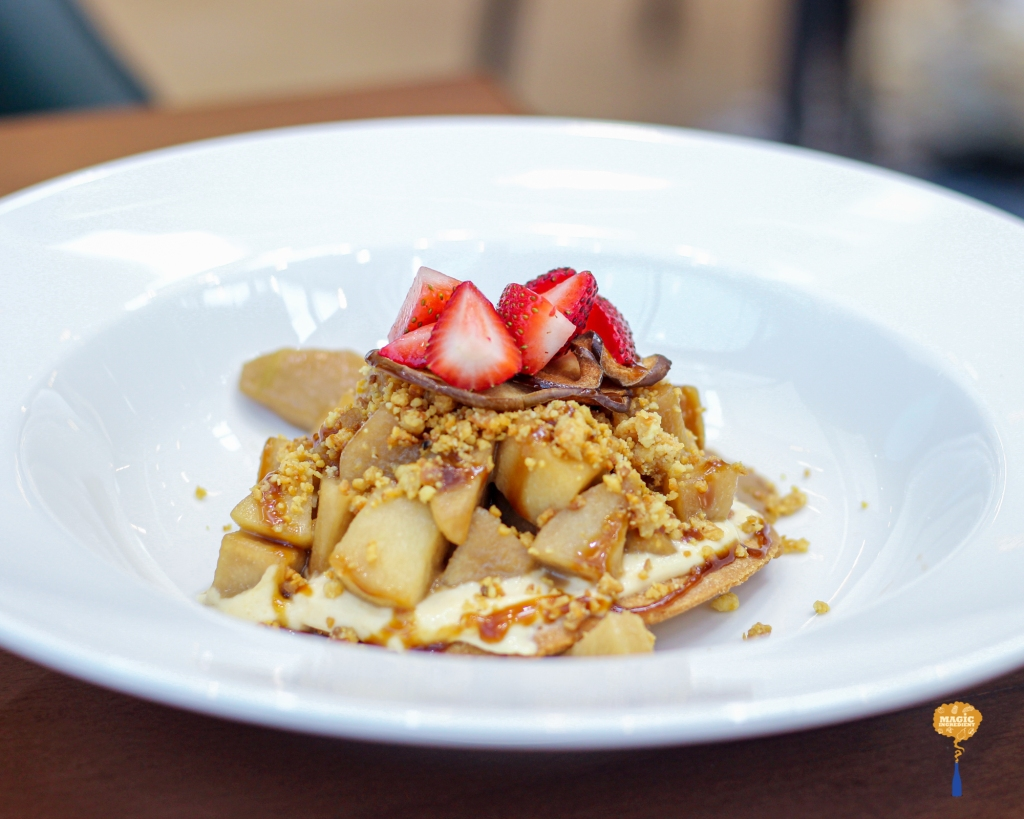 photo of spiced apple and pear