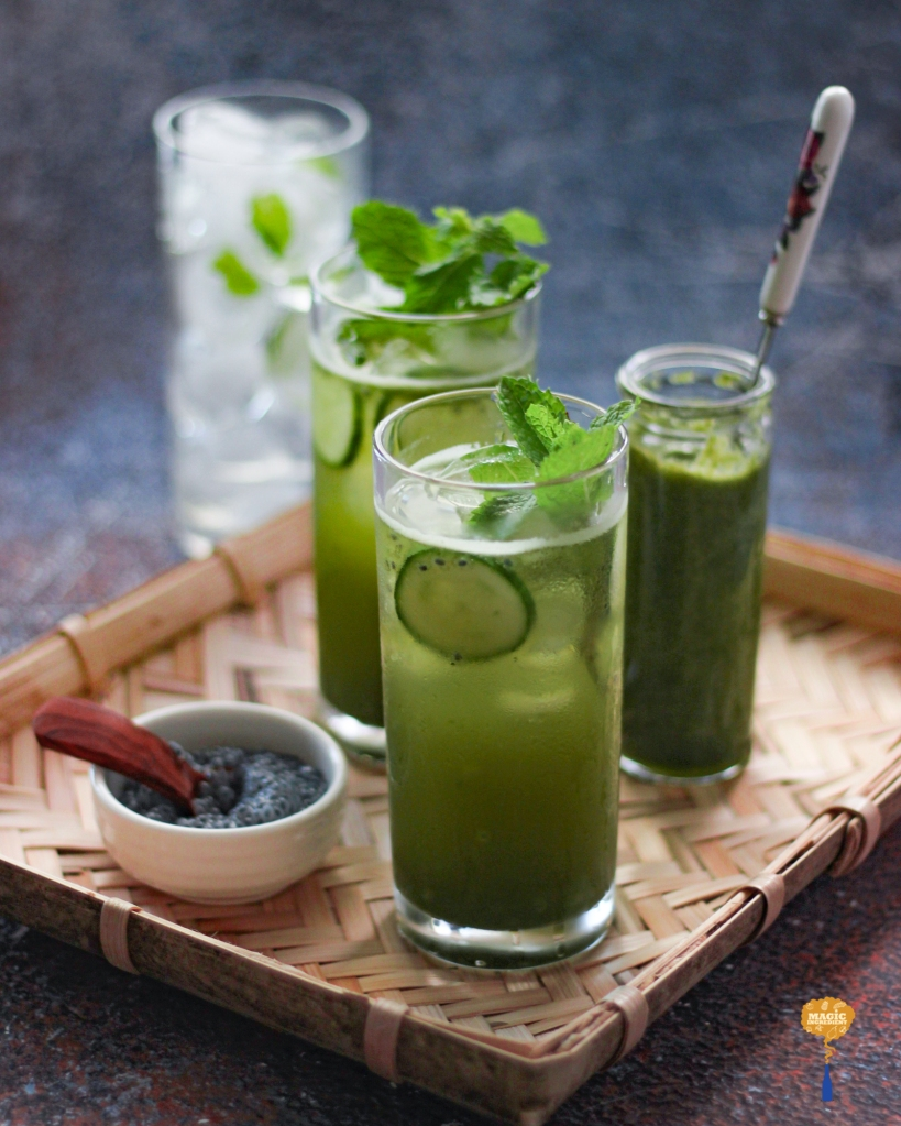 Photo of Cucumber mint cooler