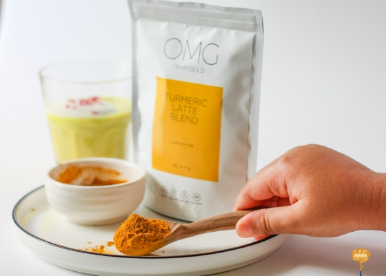 photo of Turmeric panna cotta blend from OHMYGOD