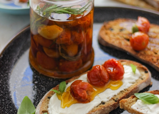 Photo of Cherry tomatoes confit