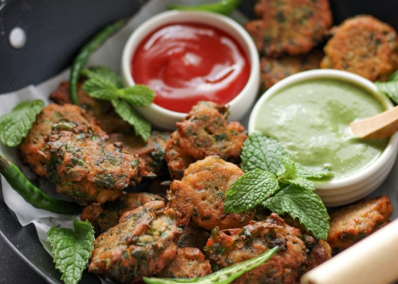 photo of Methi daal pakoras