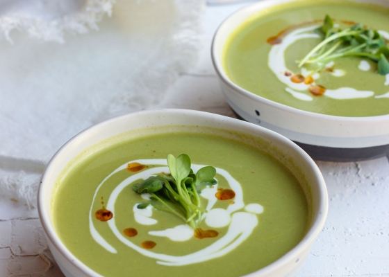 photo of Green Asparagus Soup