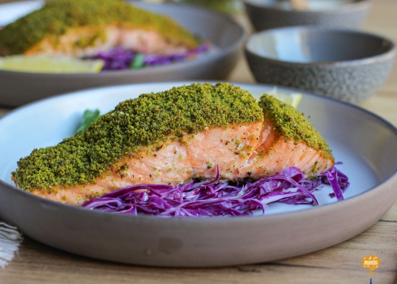 photo of Herb Crusted Salmon