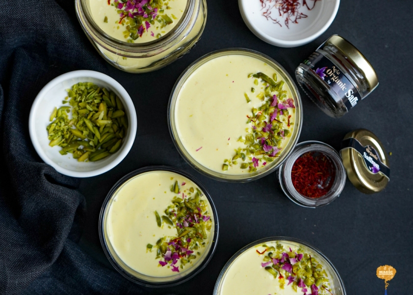 Photo of Oats Kheer with Saffron Yogurt