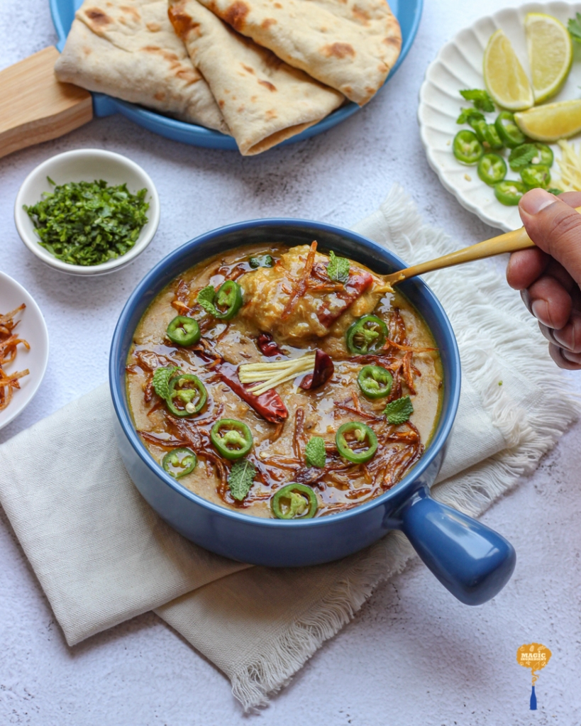 Recipe of chicken Haleem