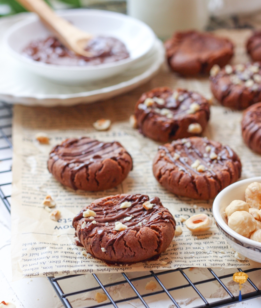 Recipe of Hazelnut butter cookies
